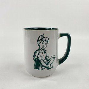 Disney Parks Peter Pan Never Grow Up Coffee Mug